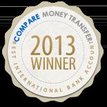 Compare Money Transfer - Best International Bank Account Award