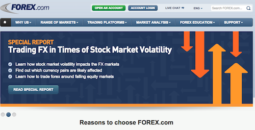 forex.com website