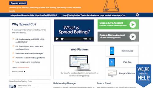spreadco website