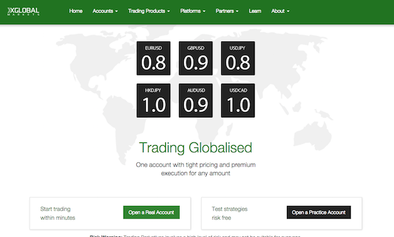 X global website
